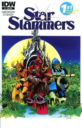 Star Slammers Remastered #1 Subscription Variant