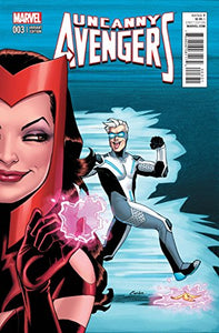UNCANNY AVENGERS #3 WOMAN OF MARVEL