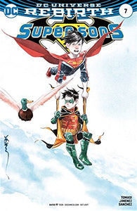 Super Sons (Issue #7 -Variant Cover by Dustin Nguyen)