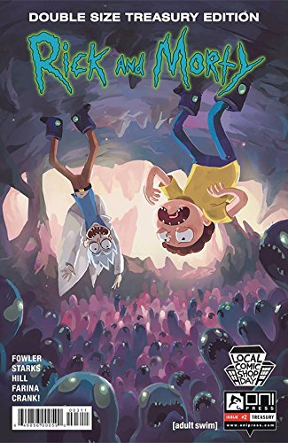 LCSD 2016 RICK & MORTY #2 TREASURY ED (C: 1-0-0) ONI PRESS INC.