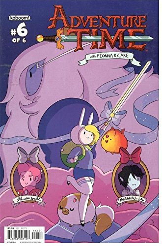 Adventure Time with Fionna & Cake #6 Boom!