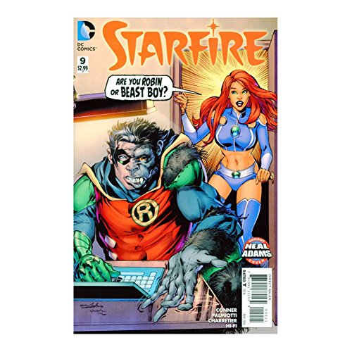 Starfire #9 Neal Adams Full Color Variant Edition First Printing
