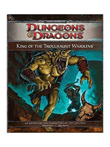 P1 King of the Trollhaunt Warrens Dungeons & Dragons 4th Edition Role Playing Game RPG by Wizards of the Coast