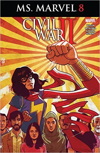 Ms Marvel #8 Comic Book