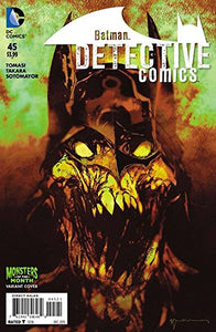 Detective Comics #45 Monsters Variant Cover