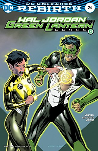 Hal Jordan And The Green Lantern Corps #24 Variant