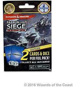 Dungeons & Dragons Dice Masters - Faerun Under Siege Foil Pack