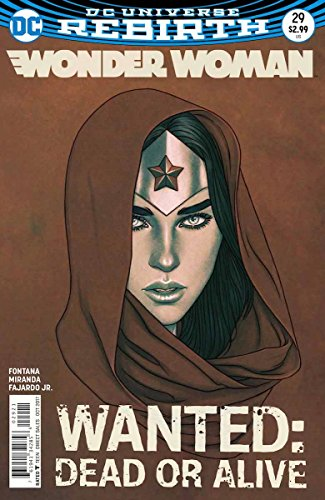 Wonder Woman (Issue #29 -Variant Cover by Jenny Frison)
