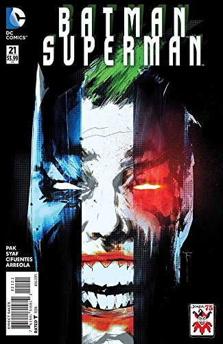Batman Superman #21 the Joker Variant Cover