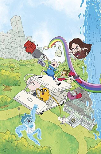 ADVENTURE TIME REGULAR SHOW #1 MAIN & MIX (C: 1-0-0)