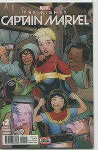 THE MIGHTY CAPTAIN MARVEL #2 TORQUE VARIANT EDITION