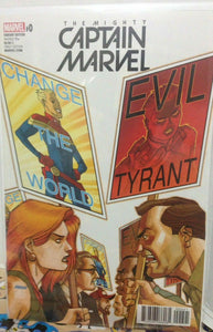 THE MIGHTY CAPTAIN MARVEL #0 JOHNSON VARIANT EDITION