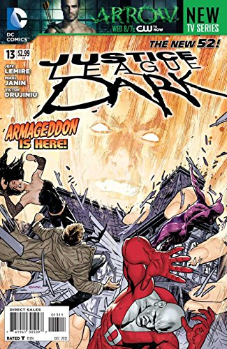 JUSTICE LEAGUE DARK #13 VF/NM THE NEW 52!