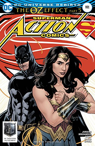 ACTION COMICS #991 Paquette Variant (OZ EFFECT)