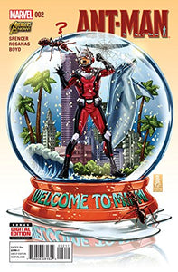 Ant-Man #2 Comic Book