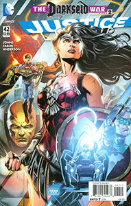 Justice League #42 The Darkseid War