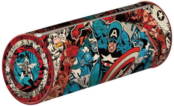 Captain America Pencil Case Stationery inch