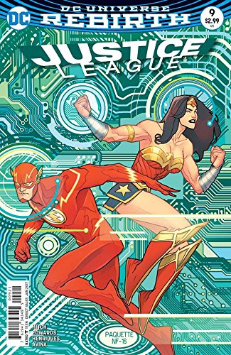 Justice League #9 Variant Cover by Yanick Paquette