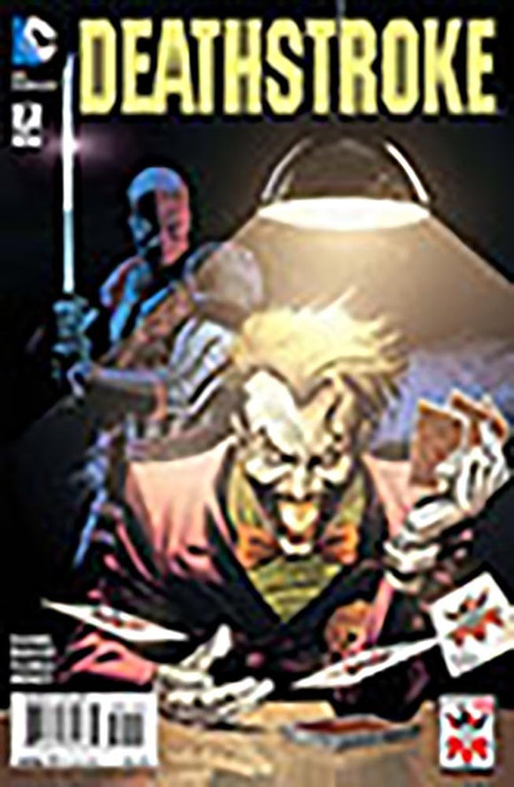 Deathstroke #7 the Joker Variant Cover Ed