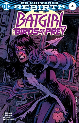 Batgirl and the Birds of Prey #4 Comic Book
