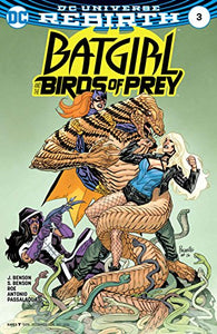 DC Universe Rebirth Batgirl and The Birds of Prey #3 (2016)