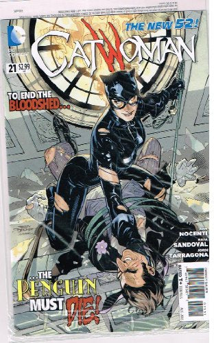 CATWOMAN # 21 DC Comic (Aug 2013) The New 52 Series