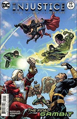 DC Injustice Gods Amond Us: Year Five #19 2016