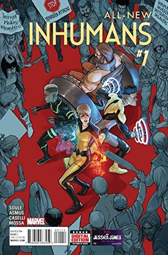 All New Inhumans #1 Marvel