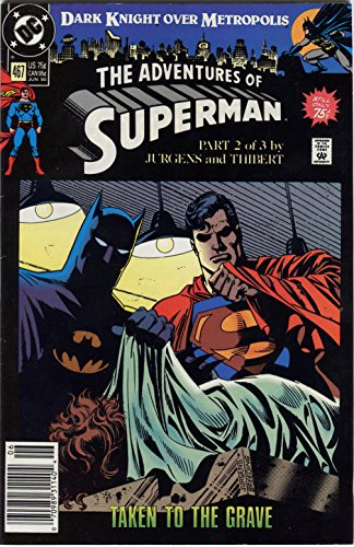 Adventures of Superman #467 DC Batman Appearance!