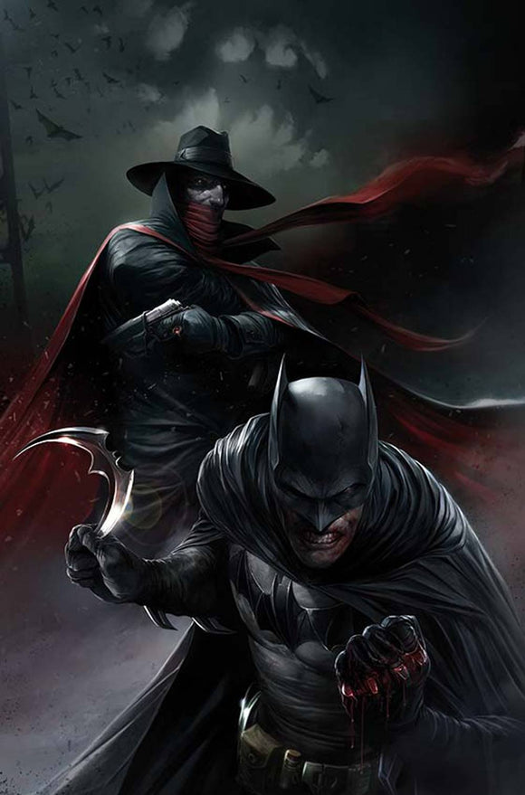 BATMAN THE SHADOW #5 (OF 6) MATTINA Variant Edition