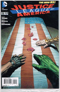 JUSTICE LEAGUE of AMERICA # 5 DC Comic (Aug 2013) The New 52