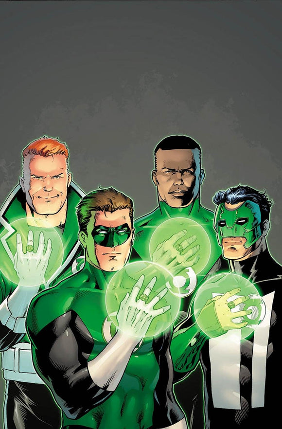 Hal Jordan and the Green Lantern Corps (Issue #35 -Variant Cover by Barry Kitson)