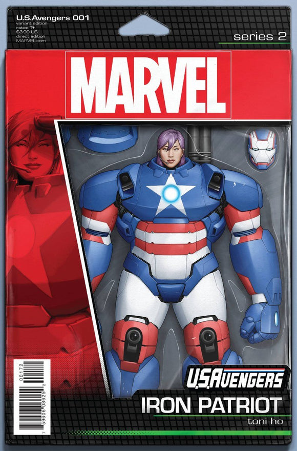 Us Avengers #1 Christopher Action Figure Var