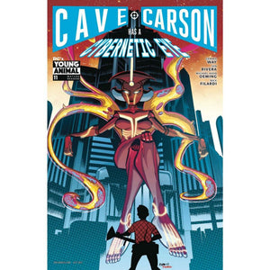 CAVE CARSON HAS A CYBERNETIC EYE #11 (MR) STANDARD CVR