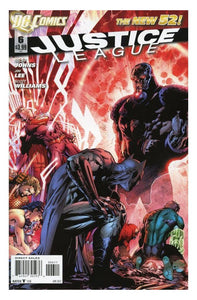"Justice League #6 ""1st Print- The Justice League Is United At Last Against Darkseid"""