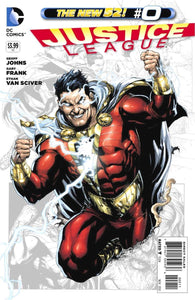 "Justice League #0 ""Billy Batson Takes Center Stage in This Issue As He Unleashes the Awesome Power of Shazam in a Special Origin Story"""
