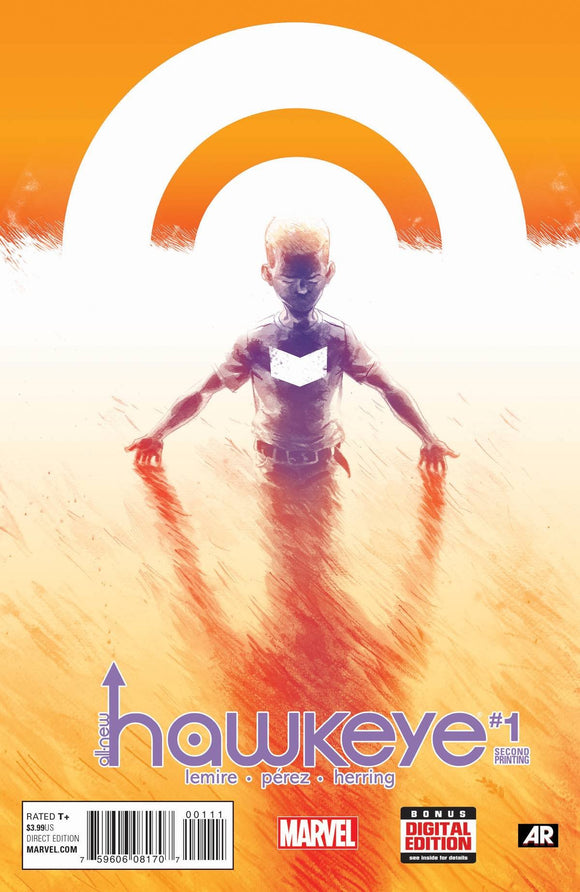 ALL NEW HAWKEYE #1 PEREZ 2ND PRINT VARIANT PEREZ