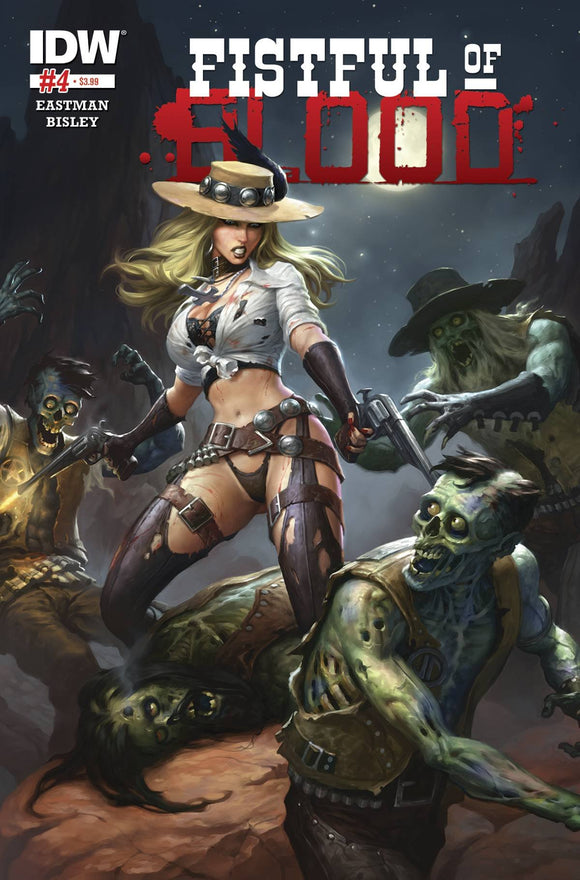 FISTFUL OF BLOOD #4 (OF 4)