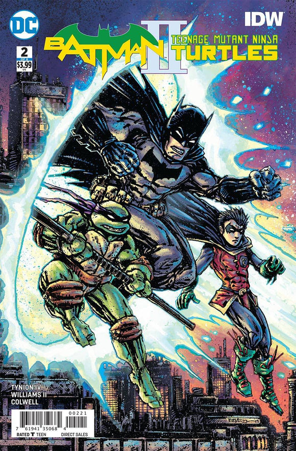 BATMAN TEENAGE MUTANT NINJA TURTLES II #2 VARIANT EDITION