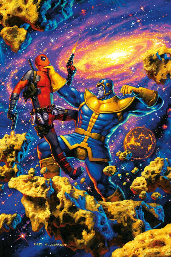 DEADPOOL VS THANOS #2 (OF 4) HILDEBRANDT VAR