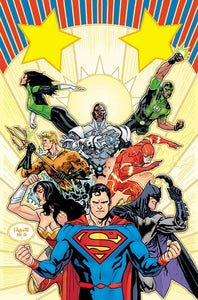 Justice League #1 Variant Cover (2016 Rebirth)