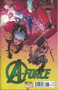 A-force #1 1:25 Variant (2015, Marvel)