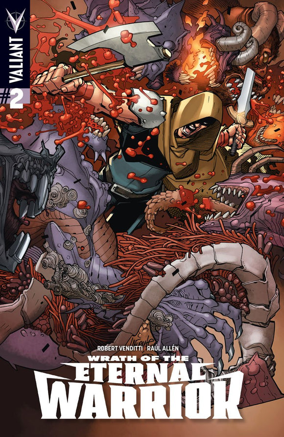 Wrath Of The Eternal Warrior #2 Cvr A Lafuente