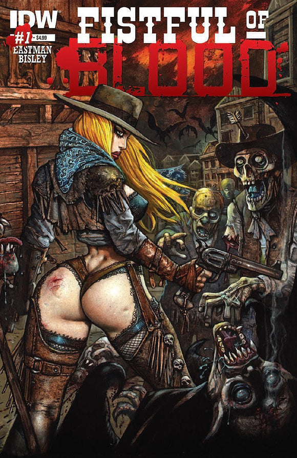 Fistful of Blood (Issue #1 -Cover by Simon Bisley)