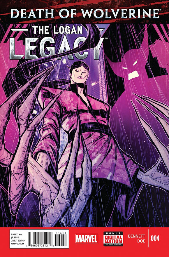 Death of Wolverine Logan Legacy #4 (of 7)