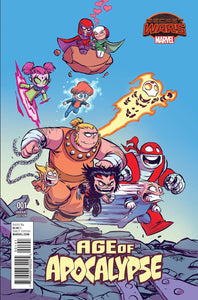 AGE OF APOCALYPSE #1 SKOTTIE YOUNG VARIANT MARVEL