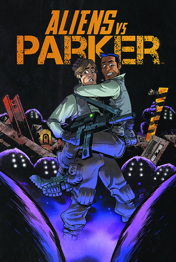 Aliens Vs Parker Graphic Novel