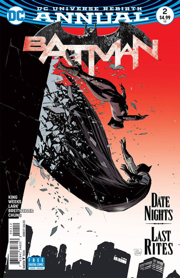 Batman Annual #2 Second Printing