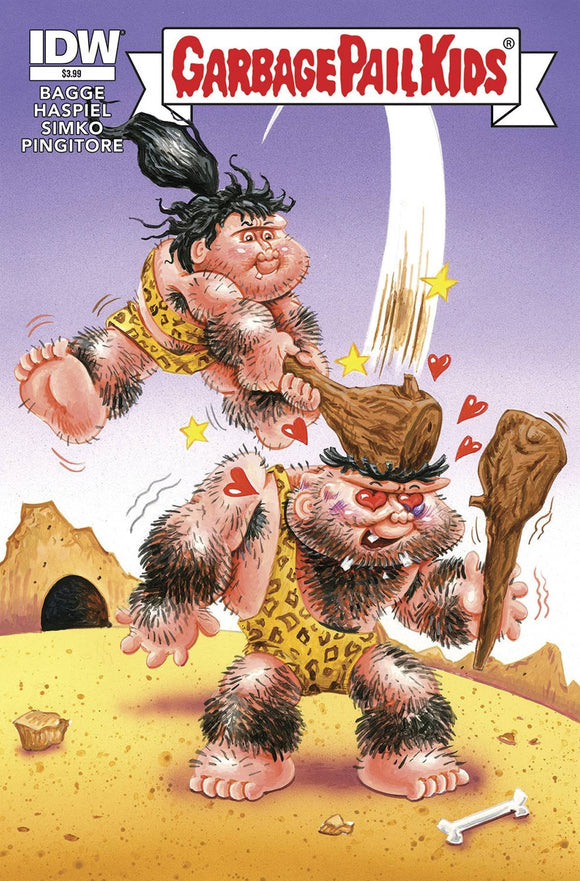 GARBAGE PAIL KIDS LOVE STINKS (ONE SHOT)