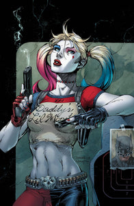 HARLEY QUINN 25TH ANNIVERSARY SPECIAL #1 Jim Lee Cover